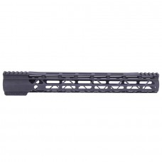 15″ AIR-LOK Series M-LOK Compression Free Floating Handguard With Monolithic Top Rail (Gen 2) (Anodized Black)