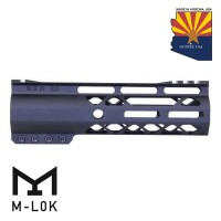 "GEN 2 7"" AIR-LOK SERIES M-LOK COMPRESSION FREE FLOATING HANDGUARD WITH MONOLITHIC TOP RAIL"