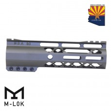 """GEN 2 7"""" AIR-LOK SERIES M-LOK COMPRESSION FREE FLOATING HANDGUARD WITH MONOLITHIC TOP RAIL (OD GREEN)"""